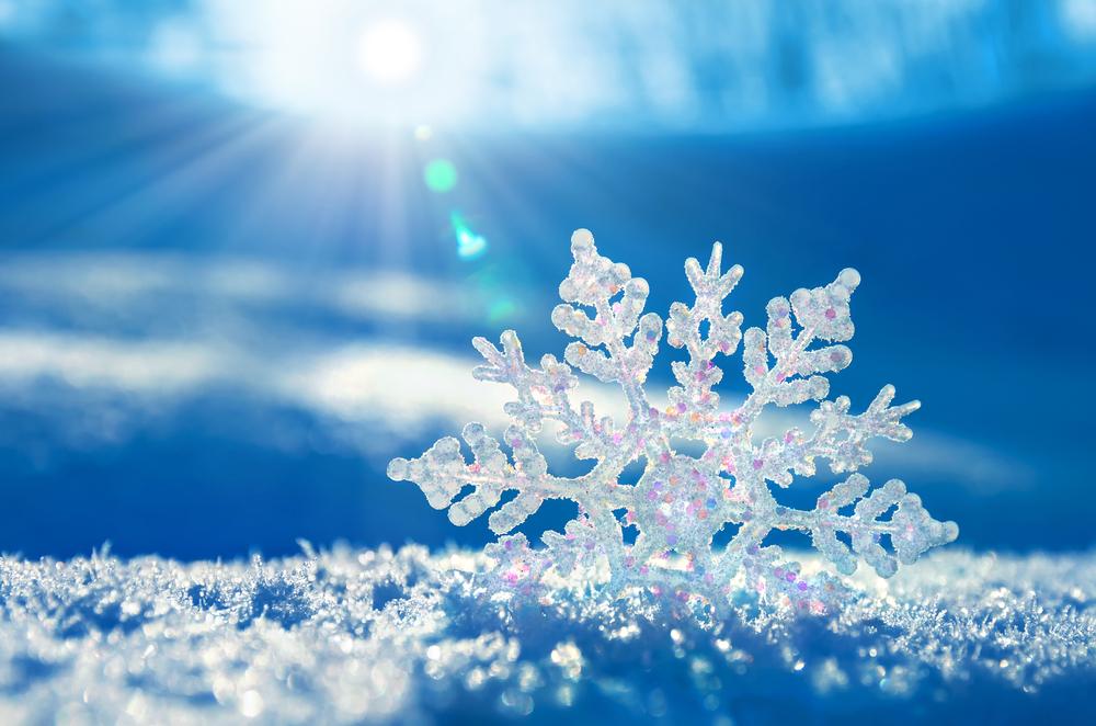 Sparkling-snowflake